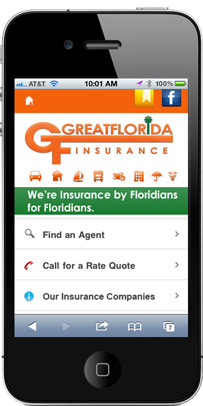 Port St. Lucie GreatFlorida Insurance Mobile Site